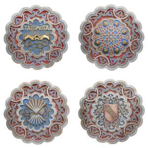Colección 4 escudos Nazaríes – VIP
